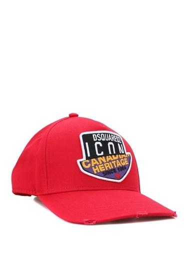 Dsquared2 Dsquared2 Canadian Icon  Erkek Şapka 101622819 Kırmızı